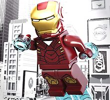 Lego Iron Man by steinbock