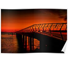 """Majestic Morning in Lorne"" Poster"