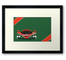 Mazda 787B 24 Hours of Le Mans winner 1991 Framed Print