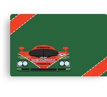 Mazda 787B 24 Hours of Le Mans winner 1991 Canvas Print