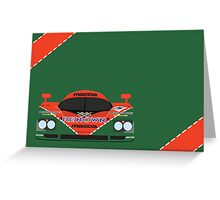 Mazda 787B 24 Hours of Le Mans winner 1991 Greeting Card