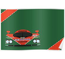 Mazda 787B 24 Hours of Le Mans winner 1991 Poster
