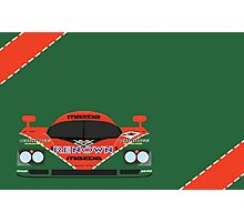 Mazda 787B 24 Hours of Le Mans winner 1991 Photographic Print