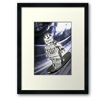 Lego Silver Surfer Framed Print