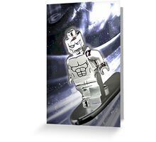 Lego Silver Surfer Greeting Card