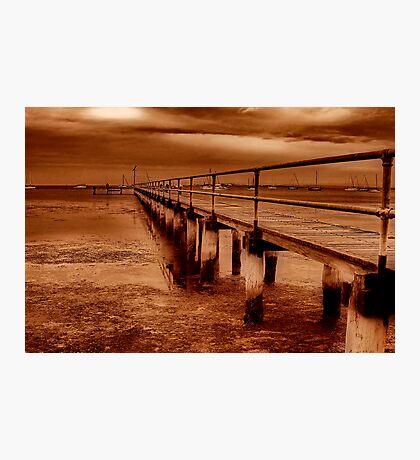 """Griffins Gully Jetty"" Photographic Print"