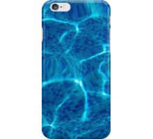 reflections of sunrays are in off-shore waves iPhone Case/Skin