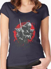 Black Samurai Women's Fitted Scoop T-Shirt