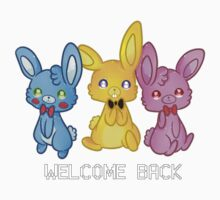 Five Nights At Freddy's 3 Welcome Back Baby Tee