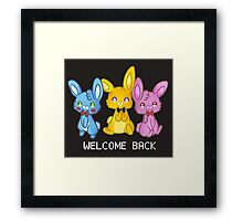 Five Nights At Freddy's 3 Welcome Back Framed Print