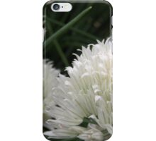Wild White Chives 2 iPhone Case/Skin