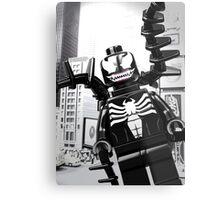 Lego Venom in the city Metal Print