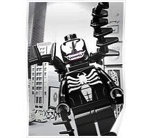 Lego Venom in the city Poster