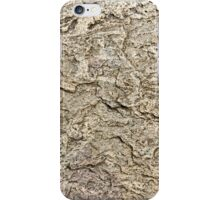 surface of volcanic rock that is subjected to erosion iPhone Case/Skin