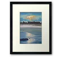 Approaching Storm - South Crowdy Framed Print
