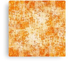 Artistic background. texture of old plaster ( stucco ) Canvas Print