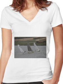 2014 Milang to Goolwa Pt.2 Women's Fitted V-Neck T-Shirt