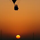 Hot air Balloon Ride over Egypt by carlacarlacarla