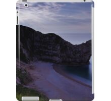 Durdle Door under a moonlit sky iPad Case/Skin