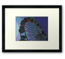 Ferris Wheel Fun II Framed Print