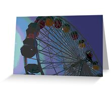 Ferris Wheel Fun II Greeting Card
