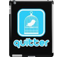 Quitter iPad Case/Skin