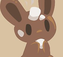 Hot chocolate bunny by binoftrash
