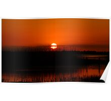 Sunset over Lake Kissimmee Poster