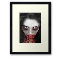 Zombie Shuffle Framed Print