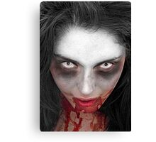 Zombie Shuffle Canvas Print