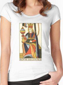 Queen Of Cups Women's Fitted Scoop T-Shirt