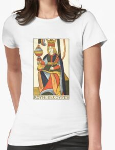 Queen Of Cups Womens Fitted T-Shirt
