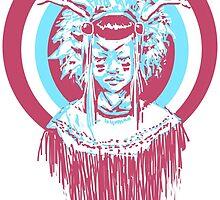 Tribal Grimes by Jessy Zee