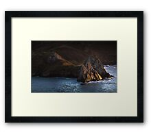 Three Cliffs Bay Gower Framed Print