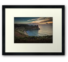 The Great Tor in south Gower Framed Print