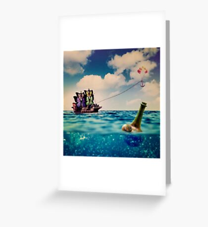 Take My Dream Away Greeting Card