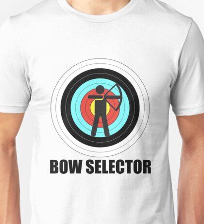 Bow Selector! Unisex T-Shirt
