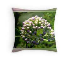 For the Buds Throw Pillow