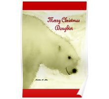 MERRY CHRISTMAS ~ DAUGHTER Poster