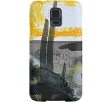 out the barn door...looking out over the prairie Samsung Galaxy Case/Skin