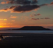 Worm's head and the wreck of Helvetia by Leighton Collins