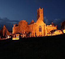 Night at Quin Abbey by John Quinn
