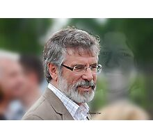 Gerry Adams Bobby Sands Photographic Print