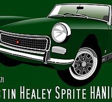 Austin Healey Sprite Mark IV British Racing Green by car2oonz