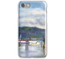 Lindau Lighthouse and Harbour, Germany iPhone Case/Skin