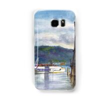 Lindau Lighthouse and Harbour, Germany Samsung Galaxy Case/Skin