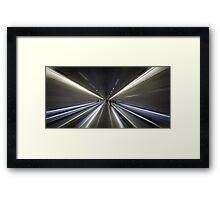 Barcelona subway Framed Print