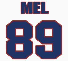 National football player Mel Tom jersey 89 by imsport