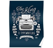 The King of Typewriters Poster