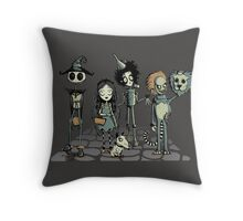 Burtons of oz Throw Pillow